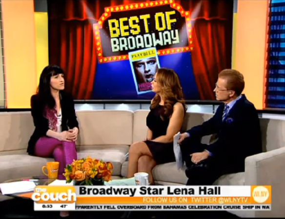 Lena Hall, Couch, Hedwig, Hedwig and the Angry Inch, Yitzhack