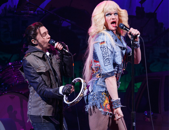 Neil Patrick Harris and Lena Hall in Hedwig and the Angry Inch