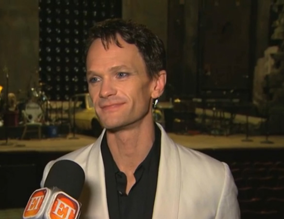 Neil Patrick Harris, Broadway, NPH, Interview, Hedwig, Hedwig and the Angy Inch, Entertainment Tonight, ET, glitter