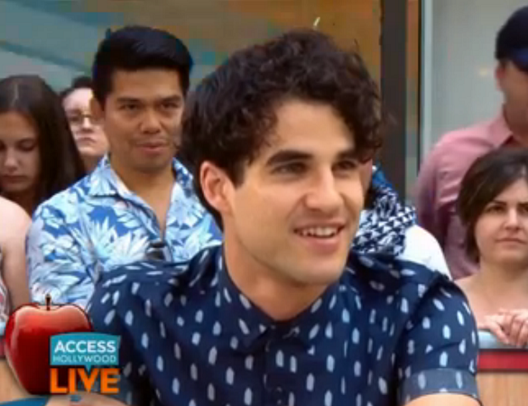 Hedwig, Darren Criss, Broadway, Access Hollywood Live