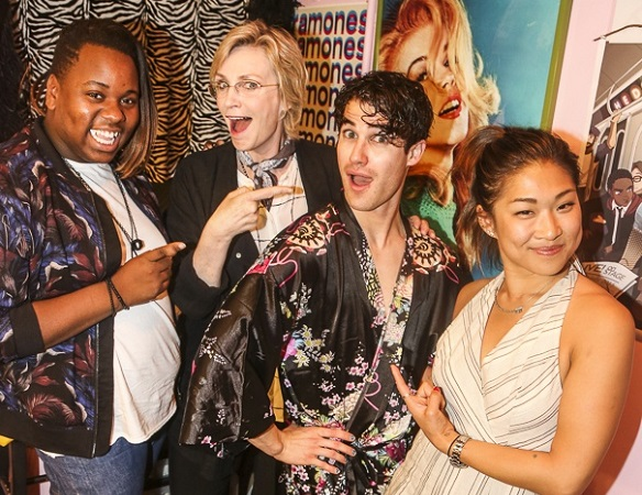 Hedwig, Darren Criss, Glee, Jane Lynch, Alex Newell, Jenna Ushkowitz