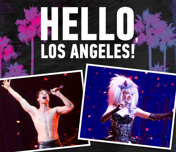 Darren Criss, Lena Hall, Tits of Clay, Hedwig National Tour